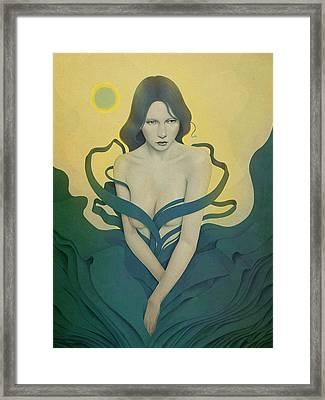 In Bloom Framed Print by Diego Fernandez