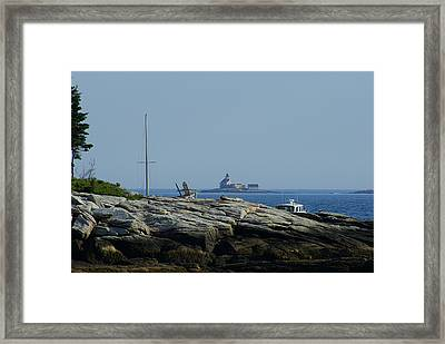 In The Distance Framed Print by Lois Lepisto