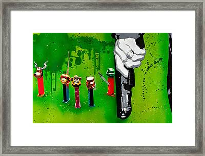 In The Hands Of The Common Man Framed Print by Tai Taeoalii