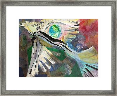 Incan Condor Framed Print by Tricia PoulosLeonard