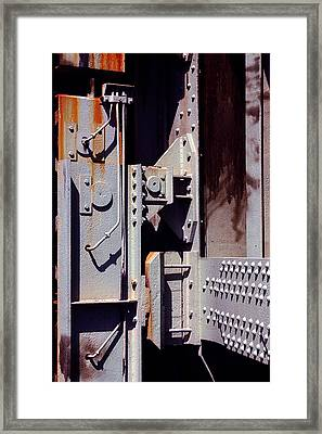 Industrial Background Framed Print