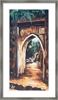 Inner Garden Framed Print by Amy Williams