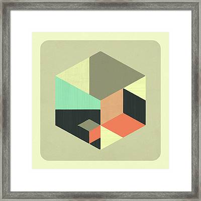 Inside Out Framed Print by Jazzberry Blue