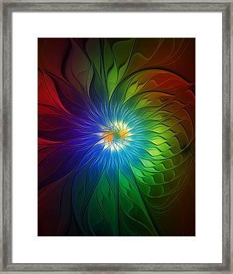 Into Light Framed Print by Amanda Moore