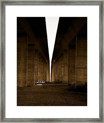 Into The Light Framed Print by Patrick Biestman
