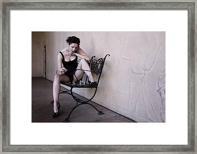 Iona Lynn 1-3 Framed Print by David Miller