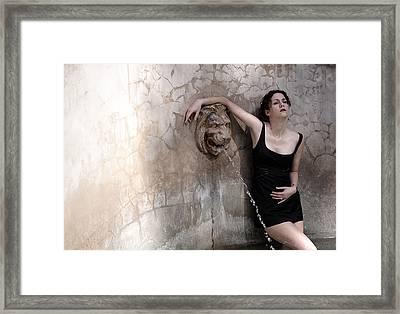 Iona Lynn 1-5 Framed Print by David Miller
