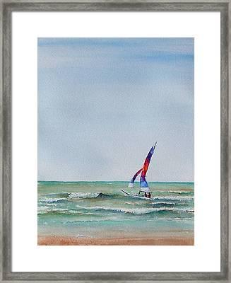 Ipperwash Beach Framed Print