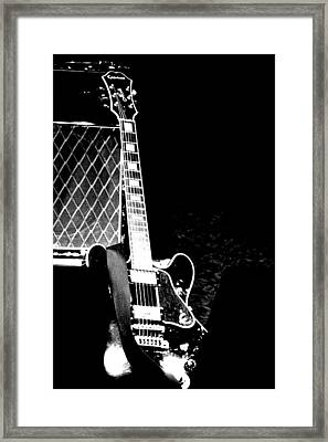 Its All Rock N Roll Framed Print