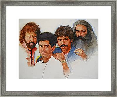 Its Country 4 - Oakridge Boys Framed Print by Cliff Spohn