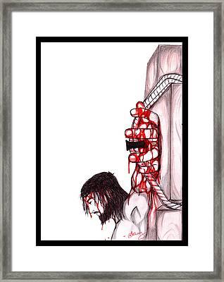 Jesus Framed Print by Abhay Pratap Singh Tomar