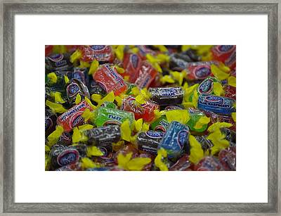 Jolly Rancher Framed Print