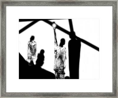 Framed Print featuring the digital art Judgement Day by Rc Rcd