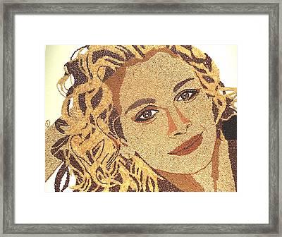Julia Roberts Framed Print by Kovats Daniela
