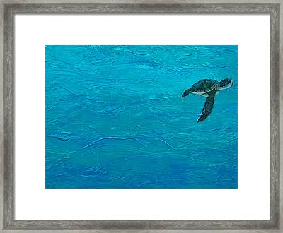 Just Hatched Framed Print by Kristen Ashton