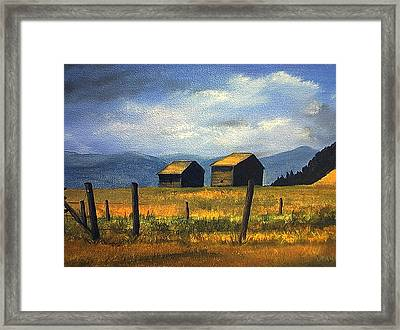 Kila Barns Framed Print