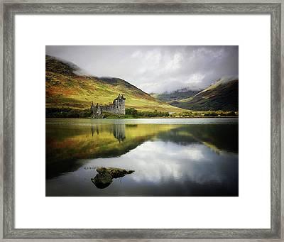 Kilchurn Castle Loch Awe Framed Print by Kennethbarker