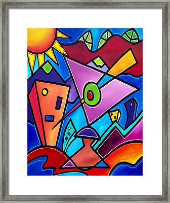Kozmotology Framed Print by Tom Fedro - Fidostudio