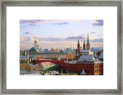 Kremlin, Moscow, Russia Framed Print