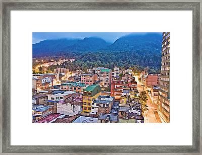 La Macarena Framed Print