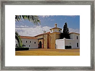 La Rabida Monastery - Huelva Framed Print by Juergen Weiss