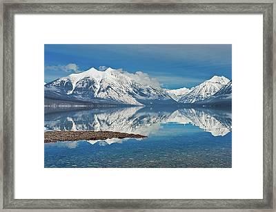 Lake Mcdonald Framed Print by Mark Shaiken - Photography