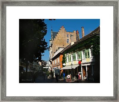 Lausanne Street Framed Print by Nick Diemel