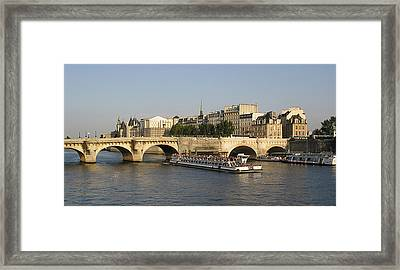 Le Pont Neuf. Paris. Framed Print by Bernard Jaubert