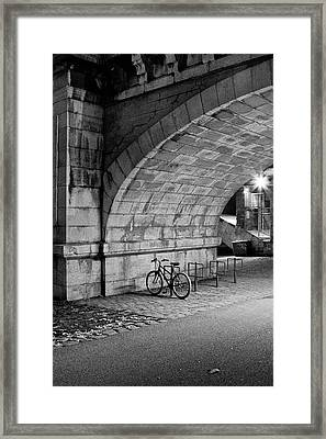 Le Vélo Framed Print by I hope you'll like it
