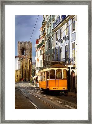 Lisbon Tram Framed Print