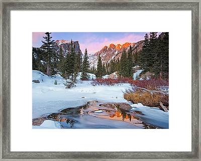 Little Stream Framed Print by Wayne Boland