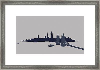 London, Great Britain Framed Print by Ralf Hiemisch