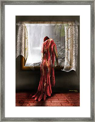 Looking At Life Framed Print