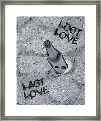 Lost Love Last Love Framed Print