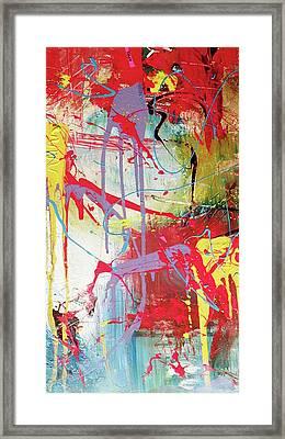 Love In Space Framed Print by Robert Daniels