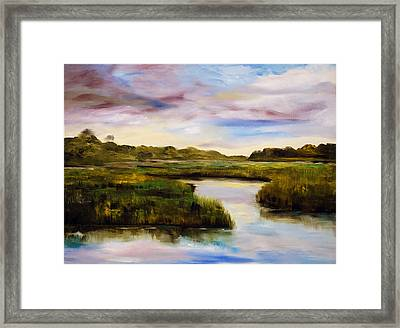 Low Country Framed Print by Phil Burton