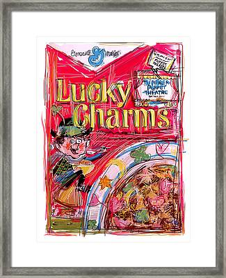 Lucky Charms Framed Print by Russell Pierce