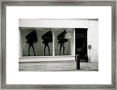 Lucky Spades Framed Print
