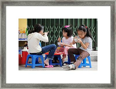 Lunchtime Framed Print by Marion Galt