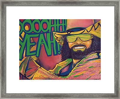 Macho Man Framed Print