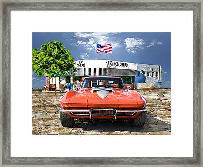 Made In The U.s.a. Framed Print by Michael Cleere