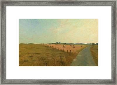 Mageret Bastogne Belgium Framed Print