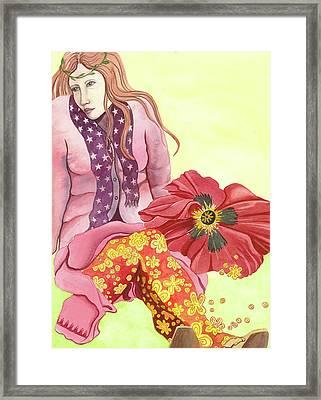 Margaret's Magic Stockings Framed Print by Sheri Howe