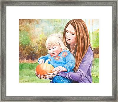 Mary And Grace Framed Print