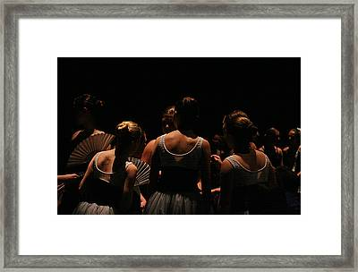 Masquerade Framed Print by Geoff Poole