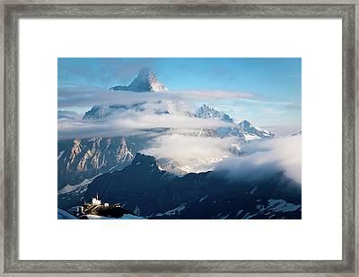 Matterhorn Framed Print by Konstantin Dikovsky