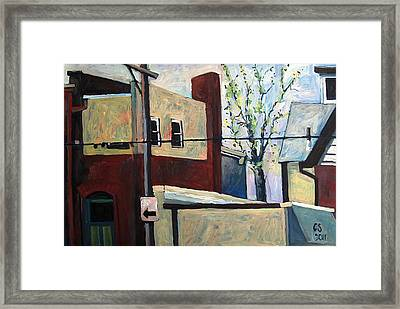 May24th One Thirty Pm Framed Print by Charlie Spear