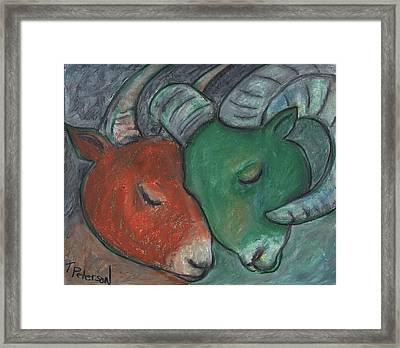 Mazi Aries Framed Print
