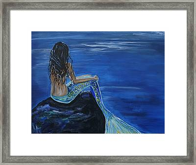 Mermaid Enchantment Framed Print