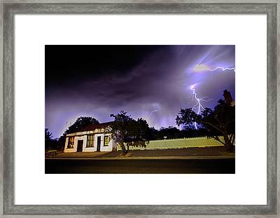 Midnight Storm Framed Print by Tim Nichols